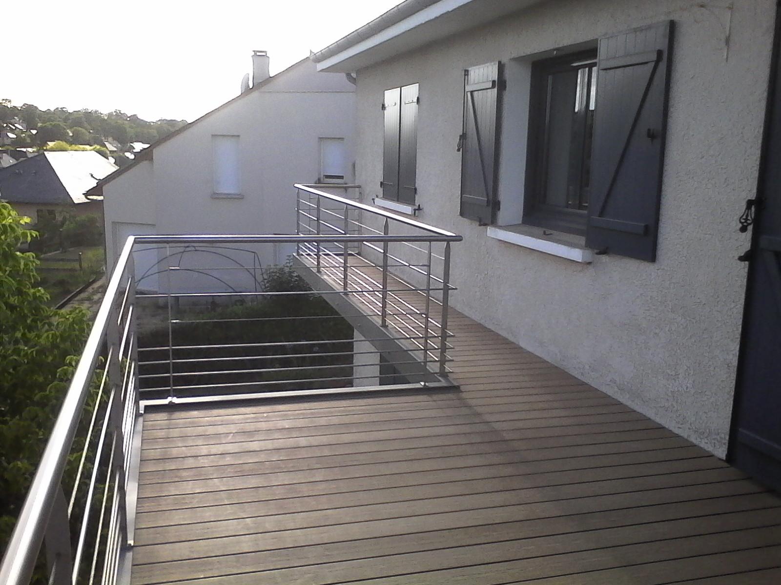 Ferronnerie terrasse